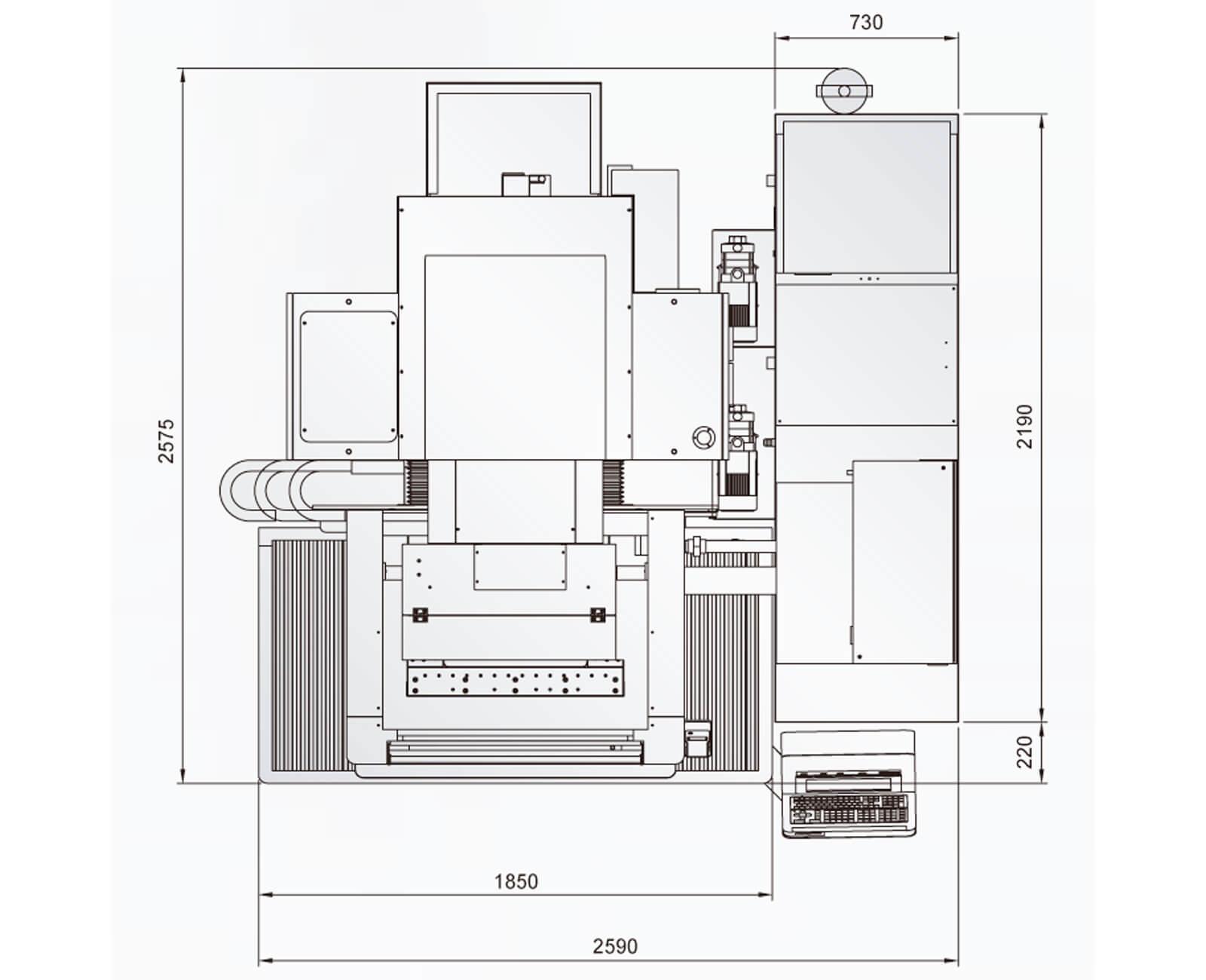 электроэрозионный станок excetek np500l