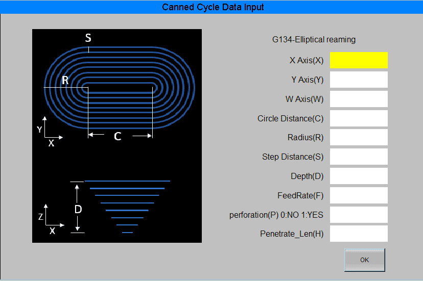 Excetek CNC HD canned cycle