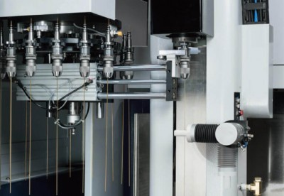 опционный автоматический сменщик электродов с магазином на 16 позиции