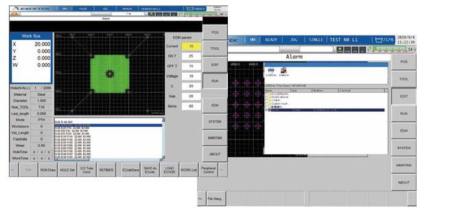 Стандартные коды G/M, файлы DXF, конвертирование файлов ЧПУ проволочной электроискровой вырезки