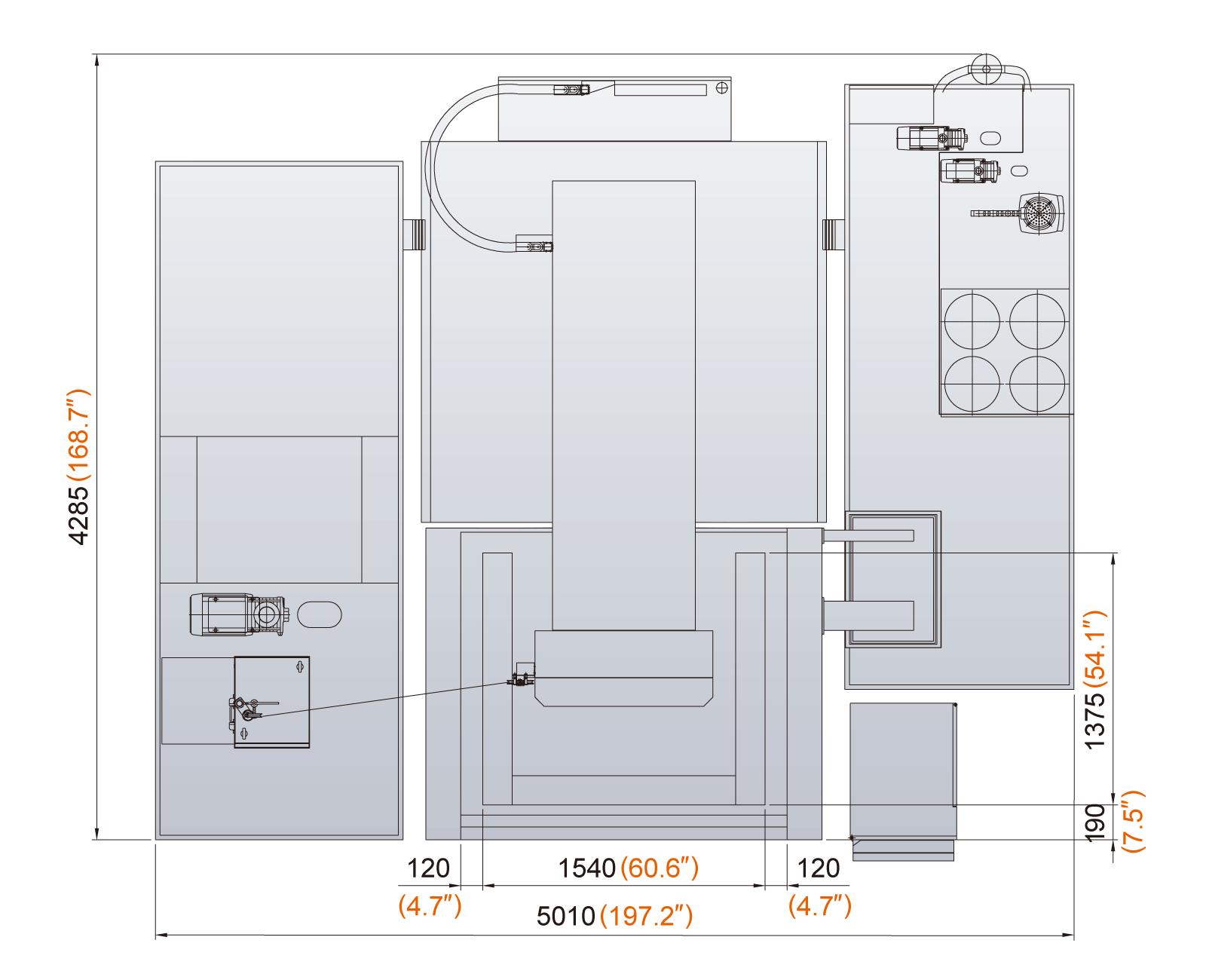 Excetek V12100 floorplan