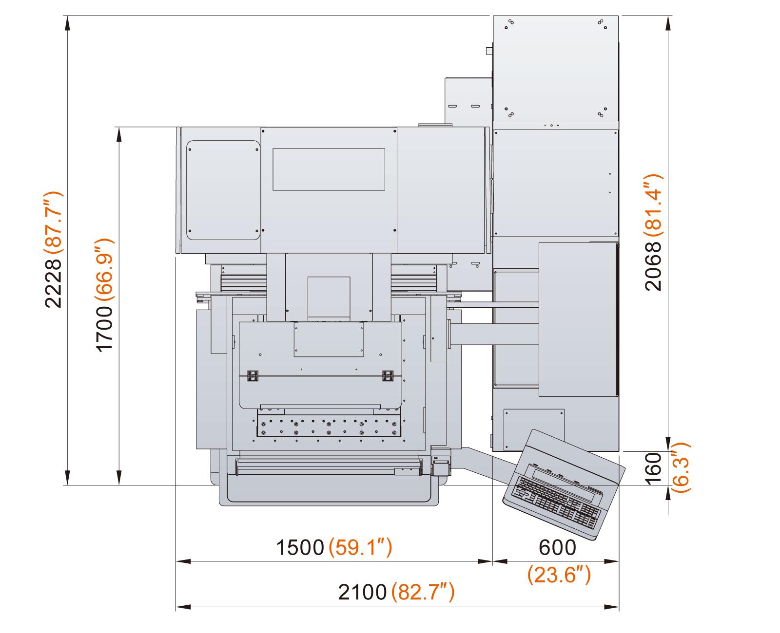 Excetek V400G floorplan