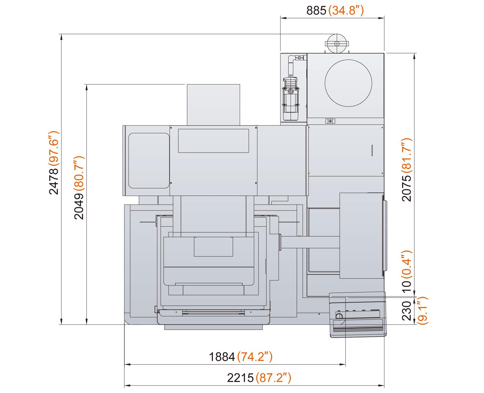 Excetek V500G floorplan